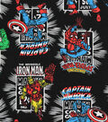 Marvel Comics Knit Fabric 58\u0022-Heroes