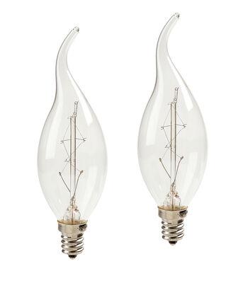 Hudson 43 Edison Flame Candelabra Bulb 7W 2pk