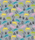 Snuggle Flannel Fabric-Bright Iguanas