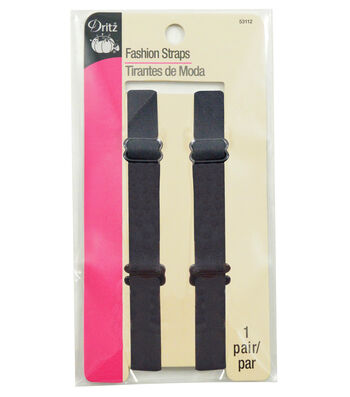 Fashion Straps Black