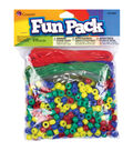 Fun Pack Pony Bead Party Pack 515/Pkg-Primary