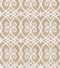 Jaclyn Smith Upholstery Fabric-Gatework Pigment Rot White