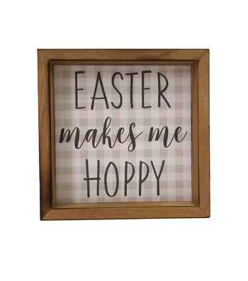 Easter Word Block-Easter Makes Me Hoppy