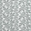 Gianna Metallic Lace Fabric 52\u0022-Scroll