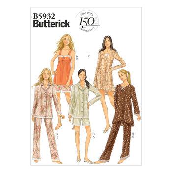 Mccall Pattern B5932 L-Xl-Xxl -Butterick Pattern