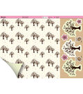 Kanban Crafts Dawn Bibby 2-Sided Cardstock 12\u0022X12\u0022 Tress&Owls