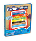 Educational Insights Foam Magnetic Fraction Strips, 51 pcs