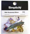 Simplicity 7pc Hair Accessory Decor-Nautre Assortment