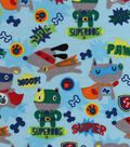 Snuggle Flannel Fabric 42\u0022-Super Dogs