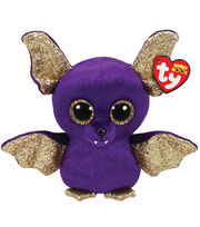Ty Beanie Boos Regular Count the Bat with Wings-Purple & Gold, , hi-res