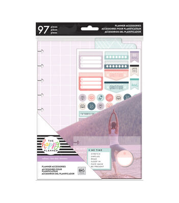 The Happy Planner Fitness Wellness Planner Accessories Pack