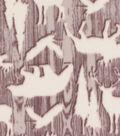 Blizzard Fleece Fabric 59\u0022-Woodgrain Woodlands