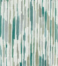 Kelly Ripa Home Upholstery Décor Fabric-Drizzle Seaglass