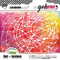 Carabelle Studio Gel & Rubber Texture Plate Kit-From Thread To Needle