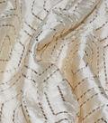 Waverly Multi-Purpose Decor Fabric 54\u0027\u0027-Embroidered Sandstone Solstice