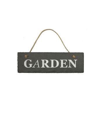 In the Garden Slate Wall Decor-Garden