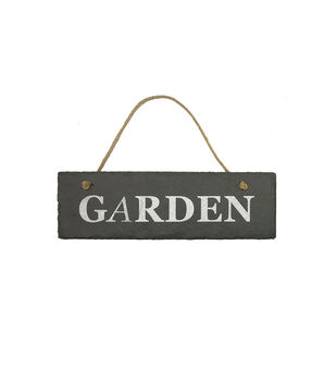 In the Garden Slate Wall Decor-Garden