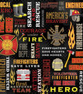 Karen Foster 12\u0022X12\u0022 Firefighter Collection Paper-Collage