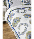 Bucilla Waverly Imperial Dress Collection Stamped Quilt Blocks