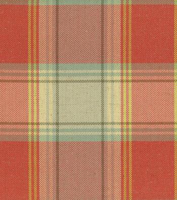 "Home Decor 8""x8"" Fabric Swatch-Waverly Carpet Ride Radish"