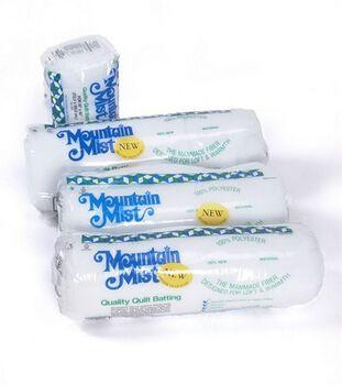"Mountain Mist Polyester Quilt Batting-Full Size 81""X96"""