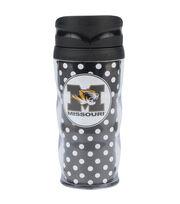 University of Missouri Polka Dot Travel Mug, , hi-res