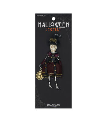 hildie & jo Halloween Doll Pendant-Day Of The Dead Pirate Girl Micaela