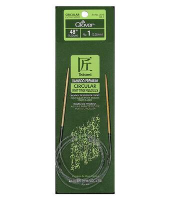 Bamboo Circular Knitting Needles 48-Size 1