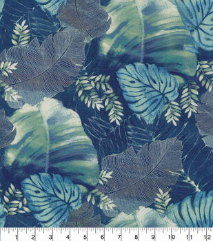 Tommy Bahama Outdoor Fabric Palm Reading-Midnight