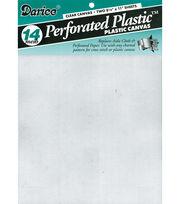 Darice 14 Count Perforated Plastic Canvas, , hi-res