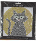 Designs Iron-On-Black Cat