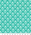 Quilter\u0027s Showcase Fabric -Pool Green Damask