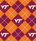 Virginia Tech Hokies Fleece Fabric 58\u0022-Argyle