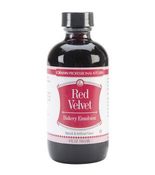 Bakery Emulsions Natural Artificial Flavor 4oz Red Velvet Cake
