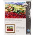 Tuscan Poppies Needlepoint Kit 14\u0022X11\u0022 Stitched In Thread