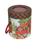 Christmas Cylinder Storage Box-Red Truck