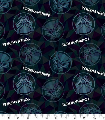 Marvel Black Panther Print Fabric by Springs Creative-Geometric