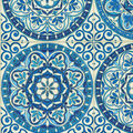 PKL Studio Outdoor Fabric 9\u0022x9\u0022 Swatch-Color Wheel Indigo