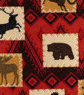 Snuggle Flannel Fabric -Wilderness Patch