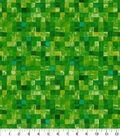 Keepsake Calico Cotton Fabric 43\u0022-Green Mosaic