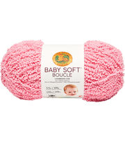 Lion Brand Baby Soft Boucle Yarn, , hi-res