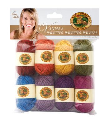 Lion Brand Vanna's Palette Bonbons Yarn 8/Pkg- Iconic