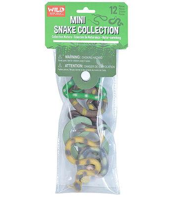 Wild Republic Mini Snake Collection