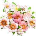Prima Marketing Havana 12 pk Mulberry Paper Flowers-Ella