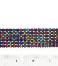 1-1/16\u0027\u0027 6 row rhinestone trim