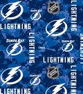 Tampa Bay Lightning Fleece Fabric 60\u0022-Tossed