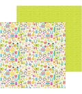 Doodlebug Sweet Summer 25 pk 12\u0027\u0027x12\u0027\u0027 Double-Sided Cardstock-Summer Fun