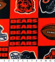Chicago Bears Fleece Fabric -Block, , hi-res