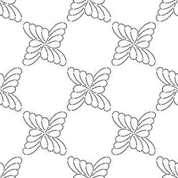 Geometrics Dots Flowers
