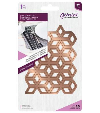 Gemini Decorative Panel Die-Diamond